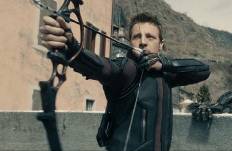 Jeremy Renner in Avengers: Infinity War