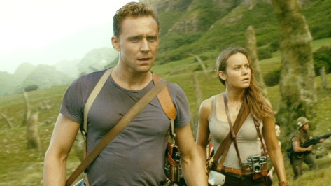 Tom Hiddleston and Brie Larson in Kong Skull Island