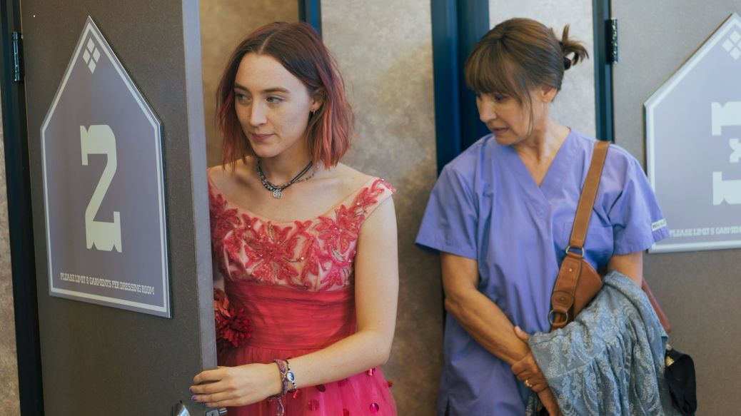 Saorise Ronan and Laurie Metcalf in Lady Bird