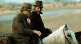 Clint Eastwood and Morgan Freeman in Unforgiven