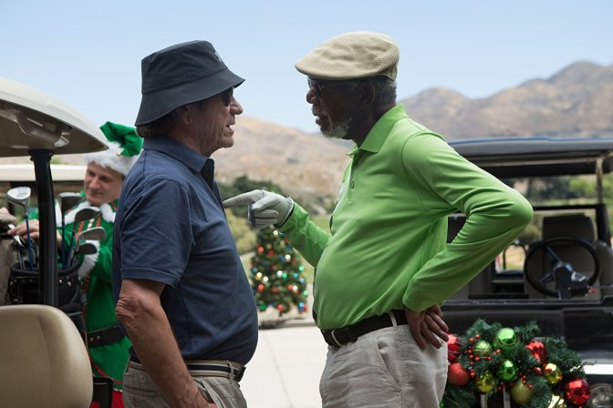 Morgan Freeman and Tommy Lee Jones in Just Getting Started