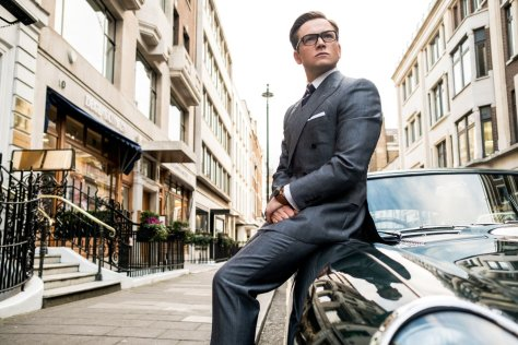 Taron Edgerton in Kingsman: The Golden Circle