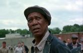 Morgan Freeman in The Shawshank Redemption