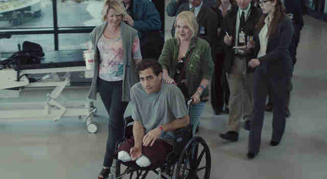 Jake Gyllenhaal and Miranda Richardson in Stronger