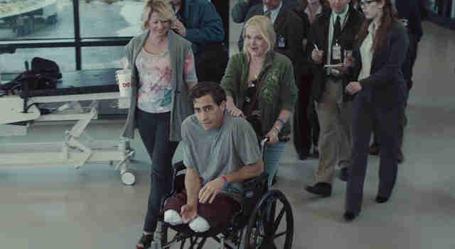 Jake Gyllenhaal and Miranda Richardson in Stronger