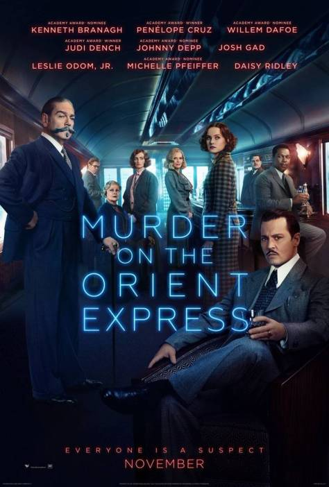 Murder On the Orient Express Poster 2