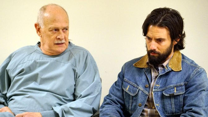 Gerald McRaney and Milo Ventimiglia in This is Us