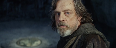 Mark Hamill in Star Wars: The Last Jedi