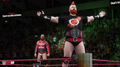 Cesaro and Sheamus in WWE 2k18