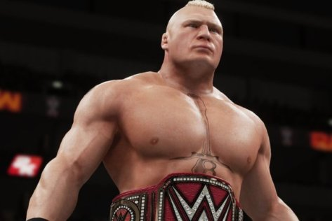 Brock Lesnar in WWE 2k18