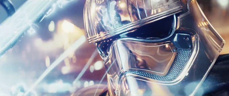 Gwendoline Christie in Star Wars: The Last Jedi