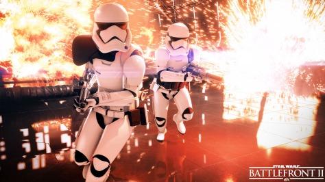 Stormtroopers in Star Wars Batlefront II