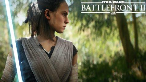 Rey in Star Wars Battlefront II