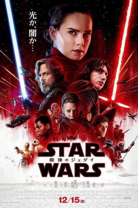 Star Wars: The Last Jedi International Poster