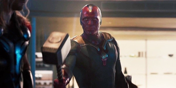 Paul Bettany in Avengers Age of Ultron