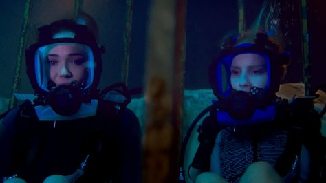 Claire Holt and Mandy Moore in 47 Meters Down
