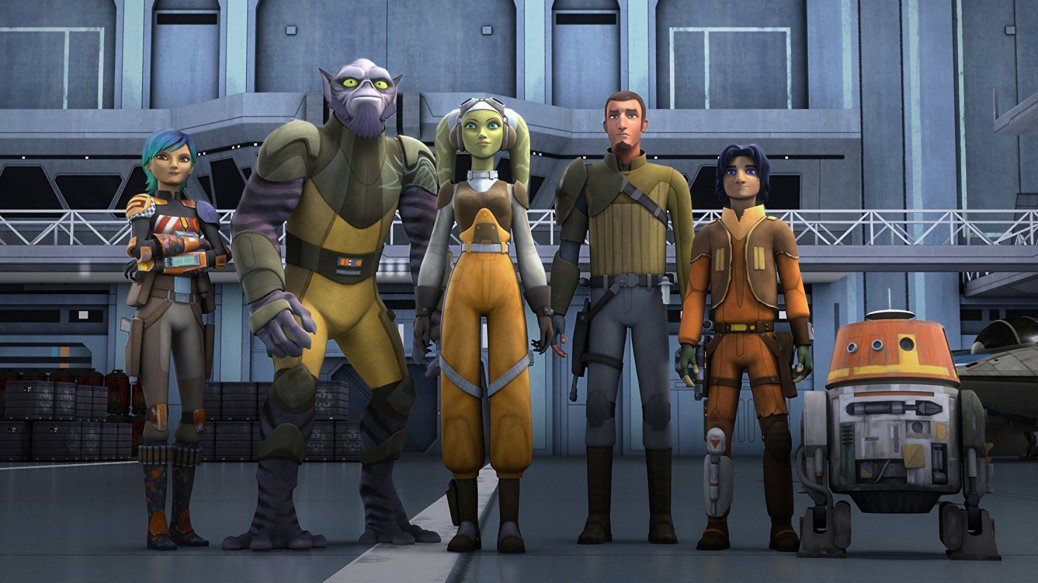 Star Wars: Rebels Crew