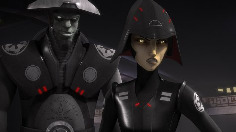 Fifth Brother and Seventh Sister in Star Wars: Rebels