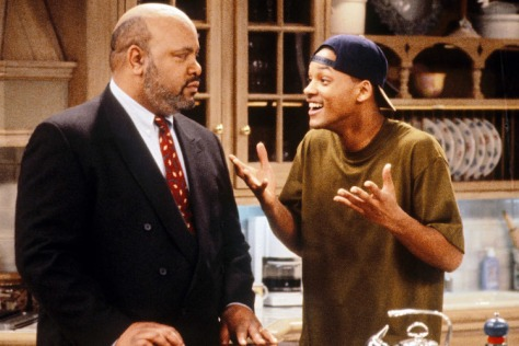 Will Smith and James Avery in The Fresh Prince of Bel-Air