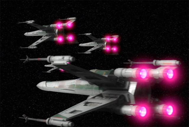 X-Wings in Star Wars: Rebels Season 4