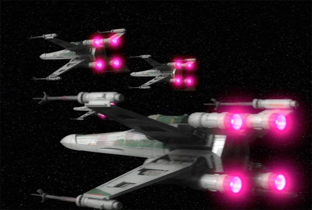 X-Wings in Star Wars: Rebels Season 4