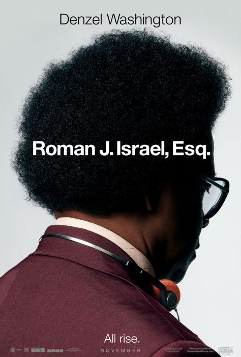 Roman J Israel Esq Poster