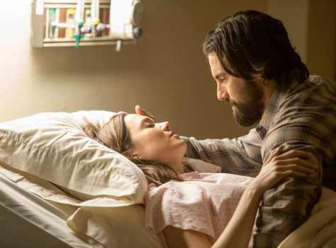 Mandy Moore and Milo Ventimiglia in This is Us