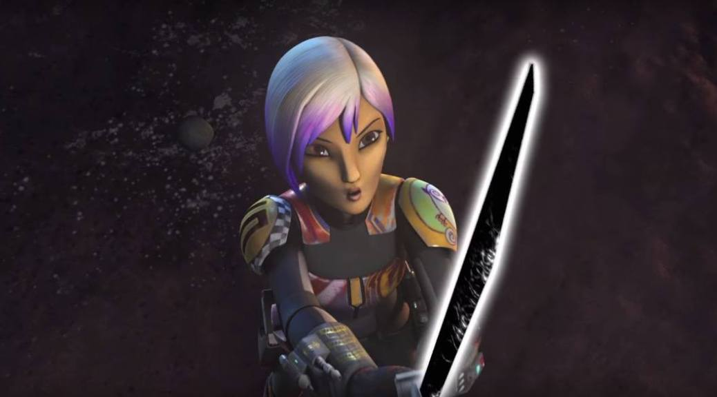Sabine Wren in Star Wars: Rebels