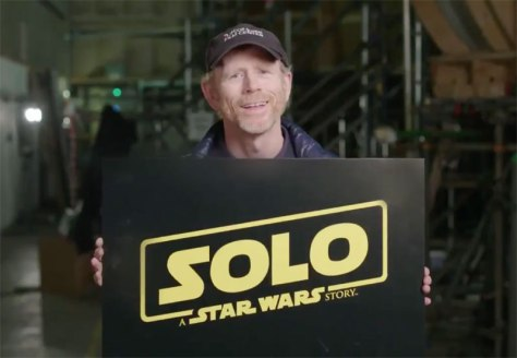Ron Howard in Solo: A Star Wars Story