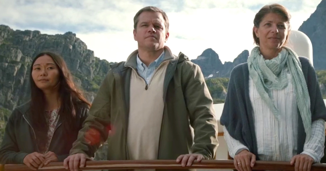 matt damon in downsizing