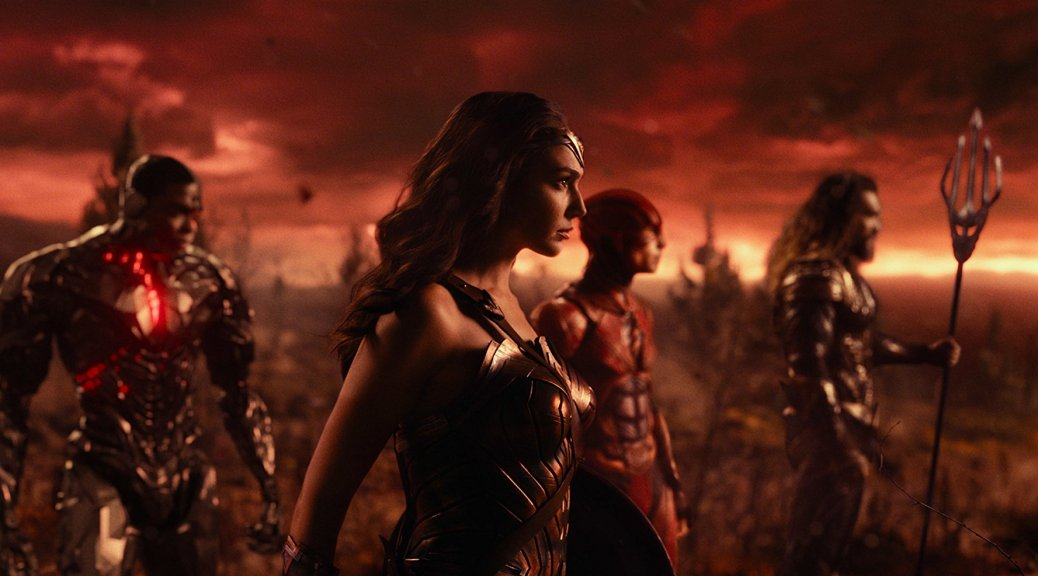 Gal Gadot in Justice League