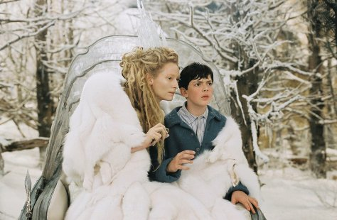 Tilda Swinton in The Chronicles of Narnia: The Lion, The Witch, and The Wardrobe