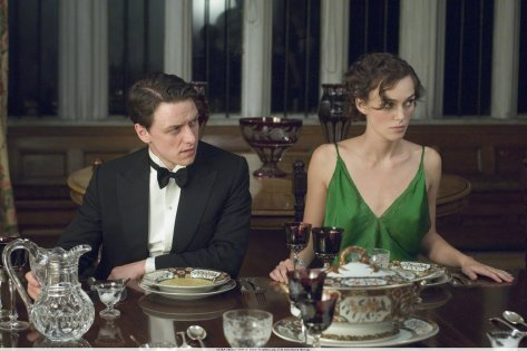 James McAvoy and Keira Knightley in Atonement