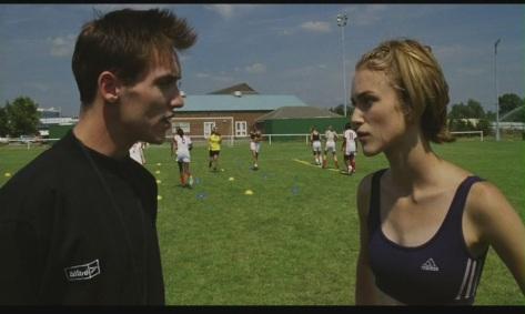 Keira Knightley in Bend it Like Beckham