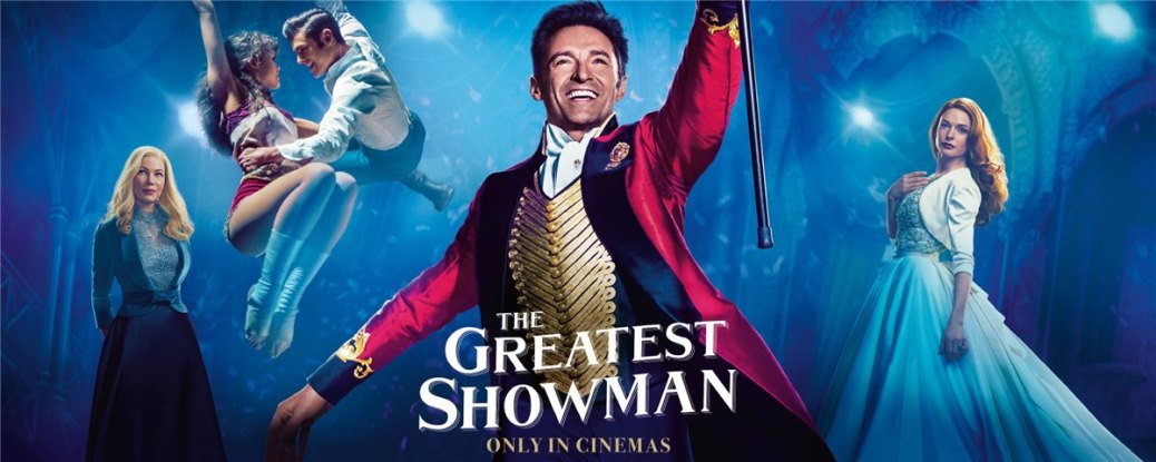 Rebecca Ferguson, Zendaya, Zac Efron, Hugh Jackman, and Michelle Williams in The Greatest Showman