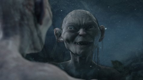 Andy Serkis as Gollum in The Lord of the RIngs: The Two Towers