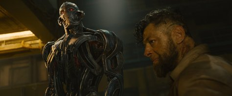 James Spader as Ultron and Andy Serkis in Avengers: Age of Ultron
