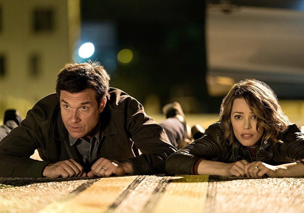 Rachel McAdams and Jason Bateman in Game Night
