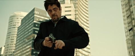 Benicio Del Toro in Sicario 2: Soldado