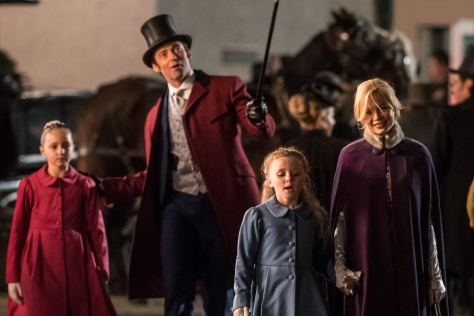 Hugh Jackman and Michelle Williams in The Greatest Showman