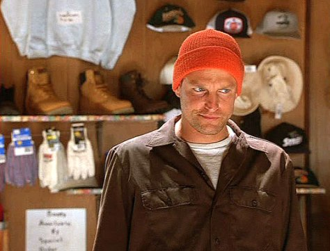 Woody Harrelson in Wag the Dog