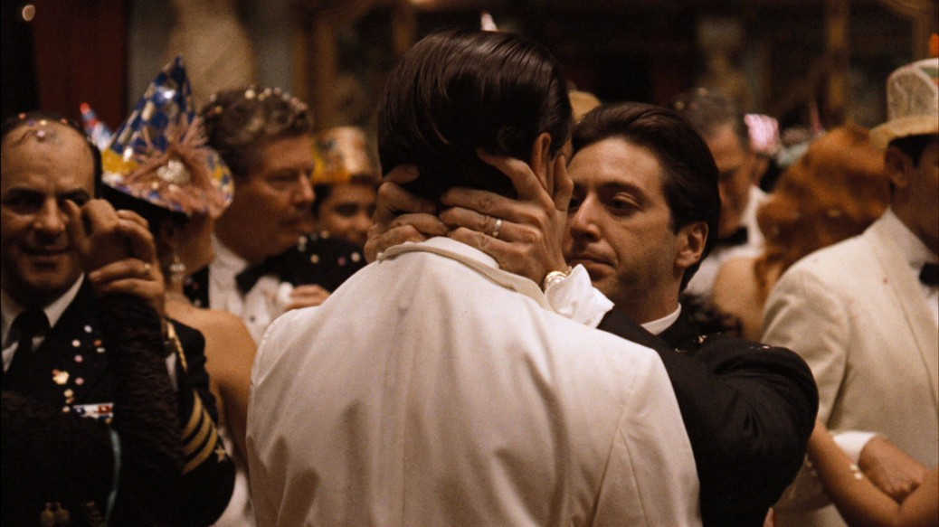 Al Pacino and John Cazale in The Godfather Part II