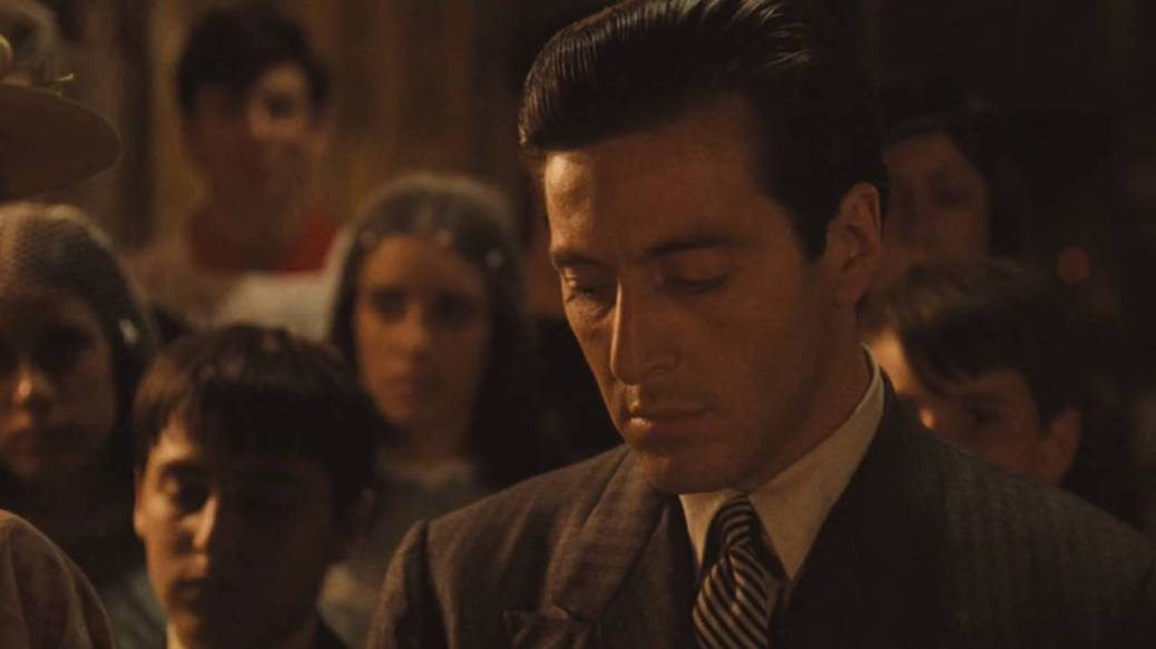 Al Pacino in The Godfather