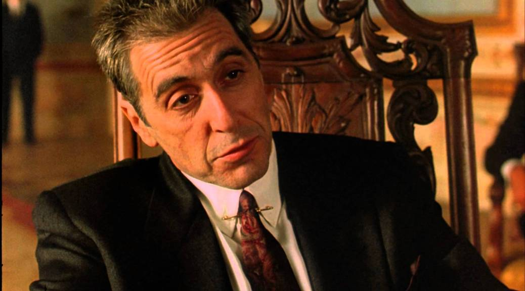 Just When I Thought That I Was Out They >> My Favorite Scene The Godfather Part Iii 1990 Just When I