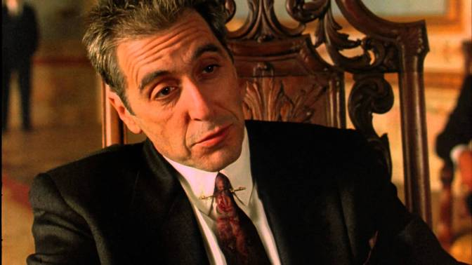 """My Favorite Scene: The Godfather Part III (1990) """"Just When I Thought I Was Out"""""""
