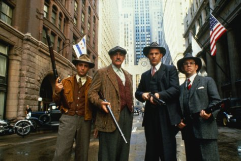 Andy Garcia, Sean Connery, and Kevin Costner in The Untouchables
