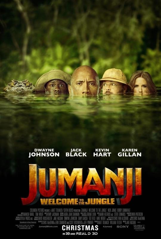 Jumanji Welcome to the Jungle Poster