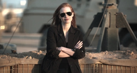 Jessica Chastain in Zero Dark Thirty