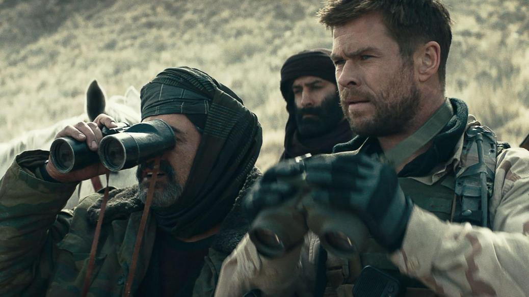 Chris Hemsworth in 12 Strong