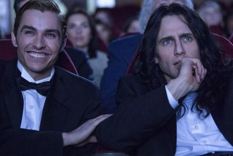 Dave Franco and James Franco in The Disaster Artist
